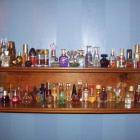 another shelf of mini b...