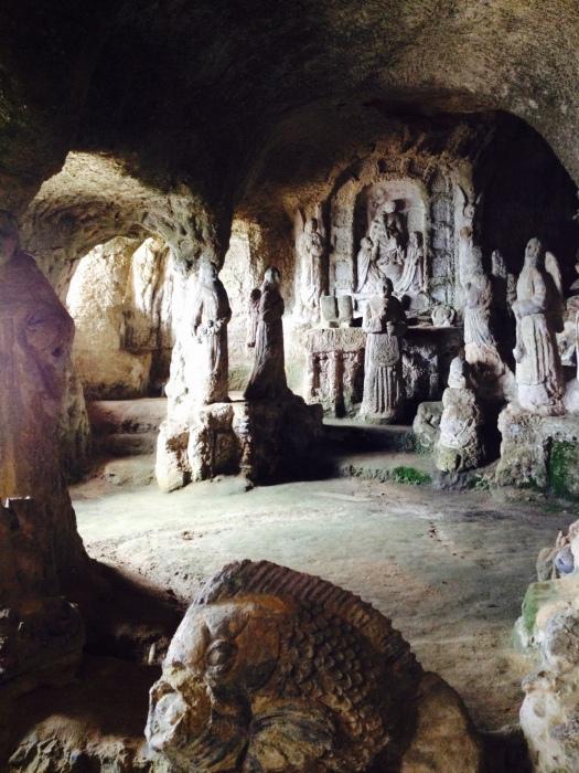 Grotten von Zungri Kalabrien