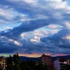 Indecisive skies...