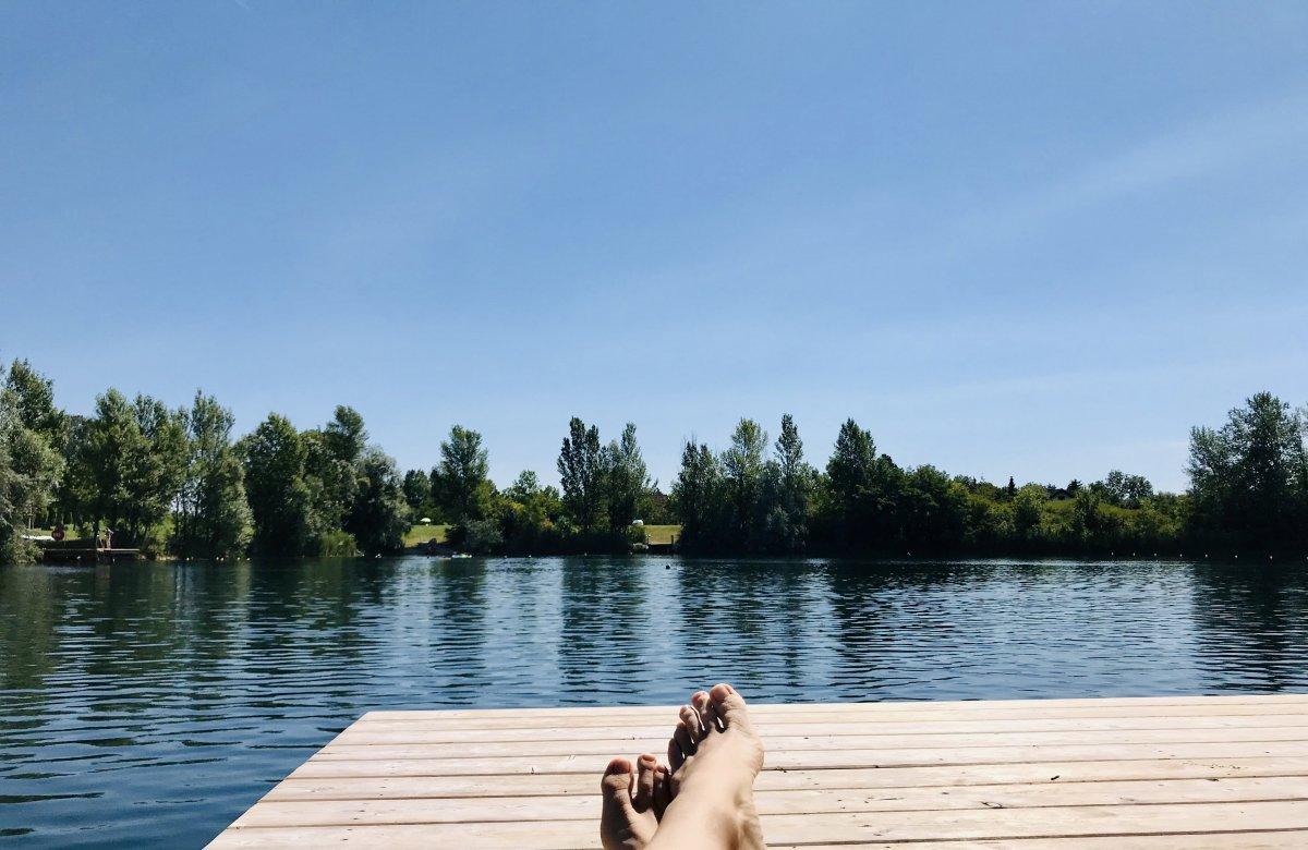 Sommerfeeling am Teich!:-)))