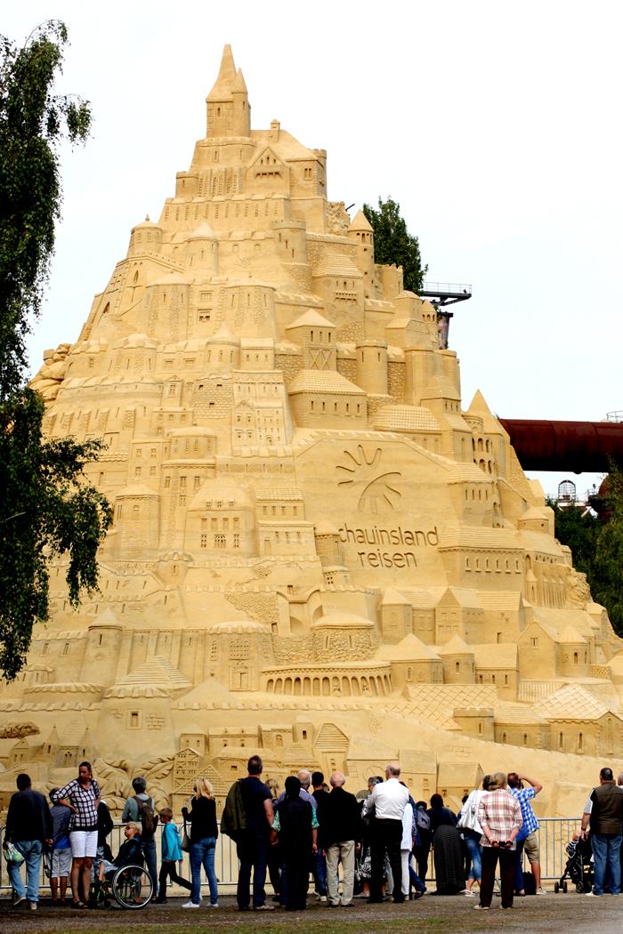 Die größte Sandburg der Welt