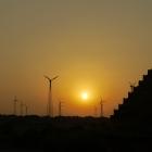Sonnenuntergang  in Jai...