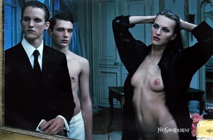 "2001: YSL ""Paris"" - Foto Mario Sorrenti"