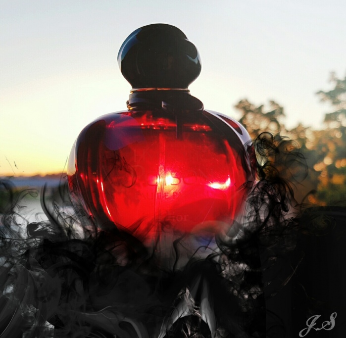Schwarz-rotes Gift
