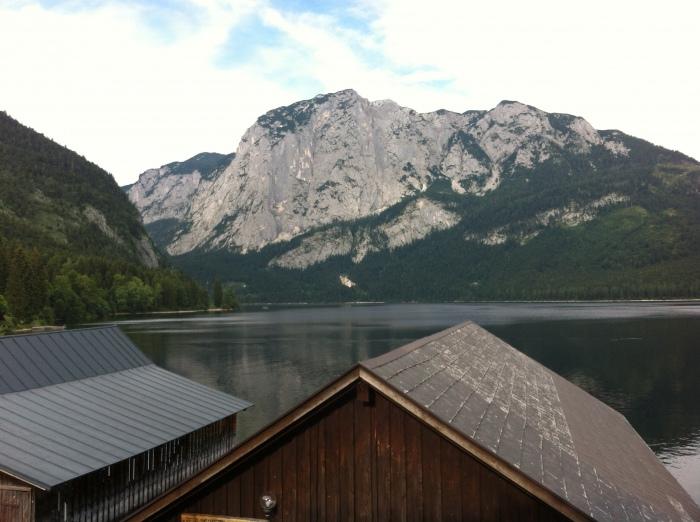 Blick vom Seeanfang in Altaussee, rein zur Seewiesn:-)