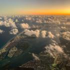 Anflug auf Miami — Wei...