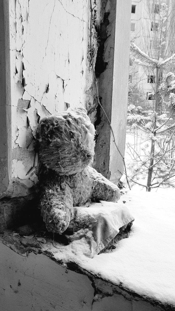 Schlaf schön Teddy ( Pripyat)