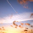 Der Himmel gestern Aben...