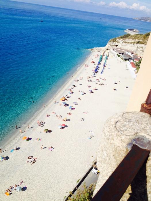 Strand von Tropea Kalabrien