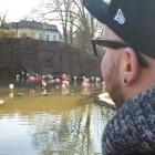 Flamingo-Lagune ist der...