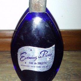 Soir de Paris (1928) / Evening in Paris (Perfume) by Bourjois