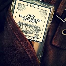 Oud Black Suede Vetiver - CinisLabs