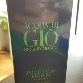 Acqua di Giò Profondo Lights von Giorgio Armani