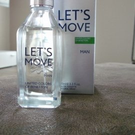 Let's Move Man by Benetton