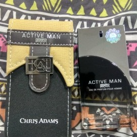 Active Man Noir by Chris Adams