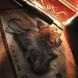 Perfume Calligraphy Rose - Aramis