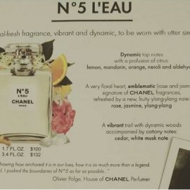 N°5 L'Eau (Eau de Toilette) by Chanel