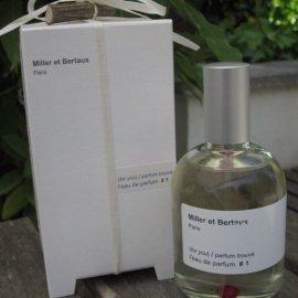 l'eau de parfum #1 (for you) / parfum trouvé von Miller et Bertaux